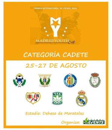 ¡Ya tenemos disponibles los horarios de la Madrid Youth Cup Cadete!