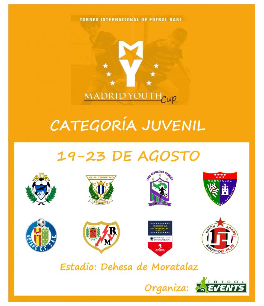 ¡Ya tenemos disponibles los horarios de la Madrid Youth Cup Juvenil!