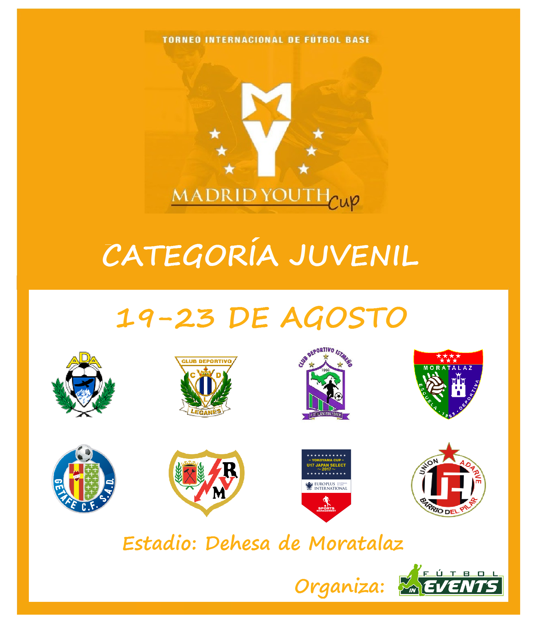 Cartel Madrid Youth Cup Juvenil