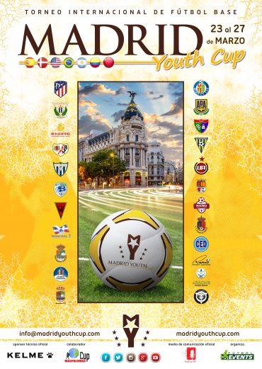 ¡Aquí tenéis el cartel de la Madrid Youth Cup!