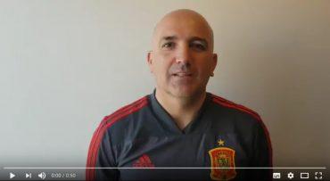 David Gordo, seleccionador español Sub-16, manda un saludo a la Madrid Youth Cup