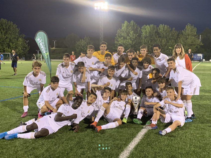 El Real Madrid se alzó campeón de la MYC 2019 Cadete