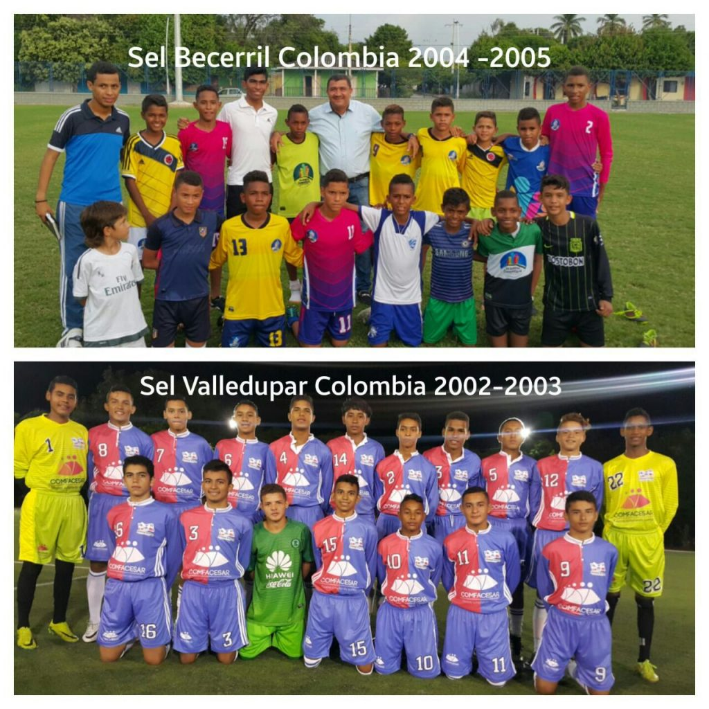 Equipos colombianos Madrid Youth Cup