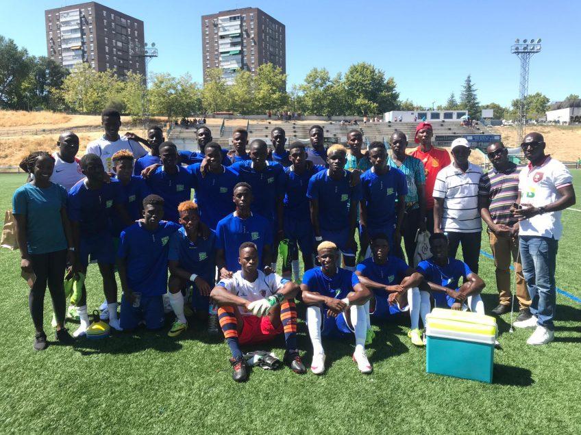 Academia Vitalaise, primer equipo africano en la MYC