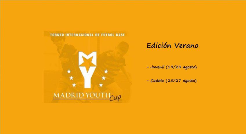 Ya queda poco para que arranque la Edición de Verano de la Madrid Youth Cup